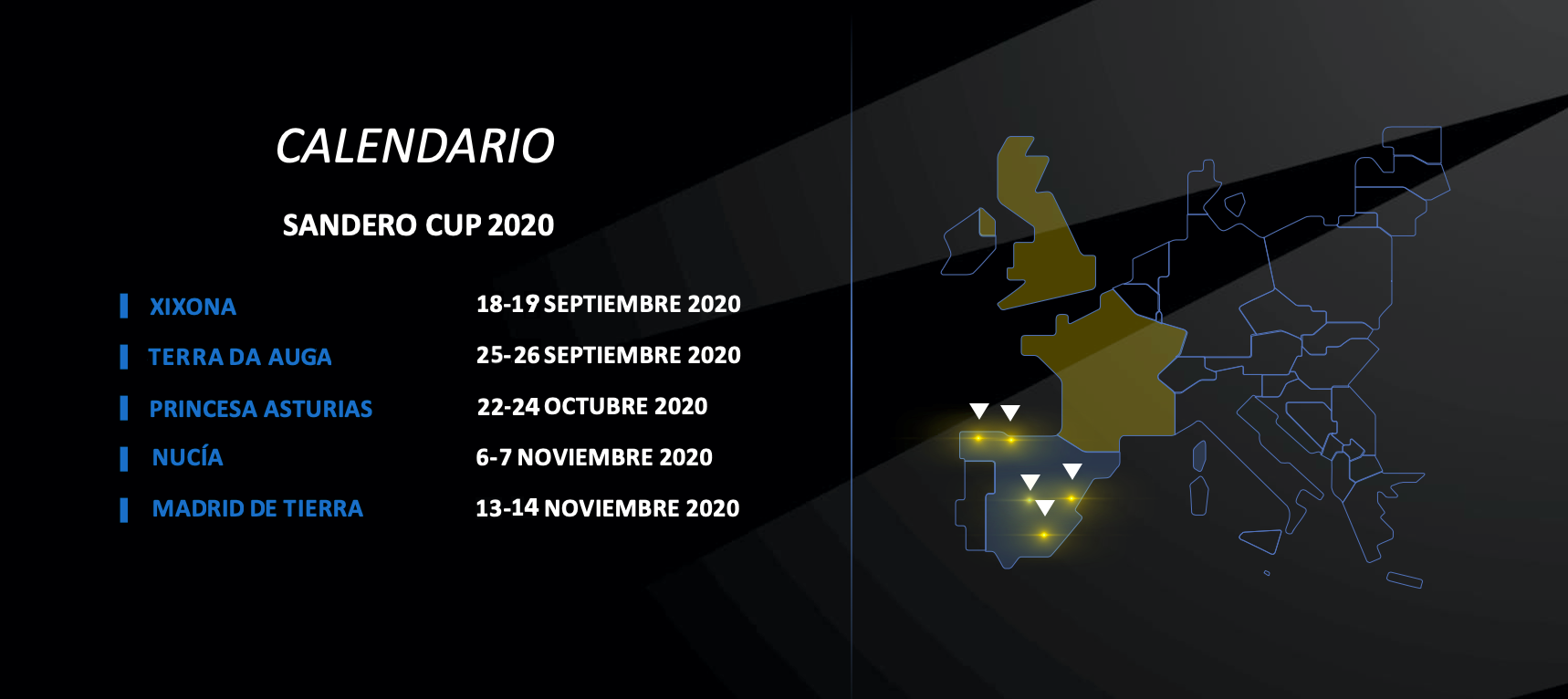 Imagen del calendario de Sandero Cup